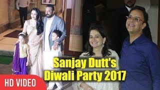 Vidhu Vinod Chopra At Sanjay Dutt Diwali Party 2017 | Sanju Baba