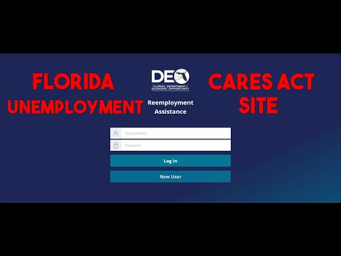 📌Florida DEO Unemployment Reemployment Site Walk Through Cares Act Stimulus How To Apply Tutorial👌🏿