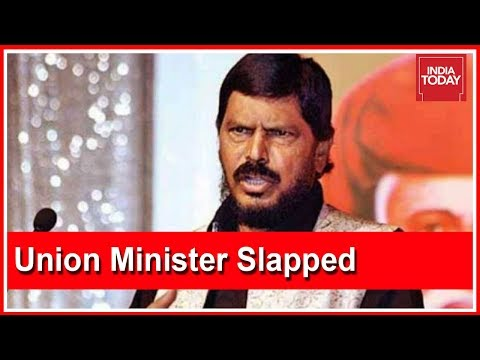 Union Min, Ramdas Athawale Slapped At Event In Maharashtra Mp3
