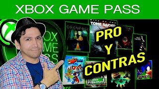 XBOX GAME PASS - PROS Y CONTRAS