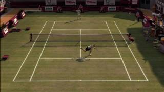 Top Spin 3 - Maria Sharapova vs. Boris Becker