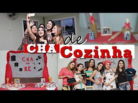 DICAS PARA FAZER CHÁ DE COZINHA + VLOG