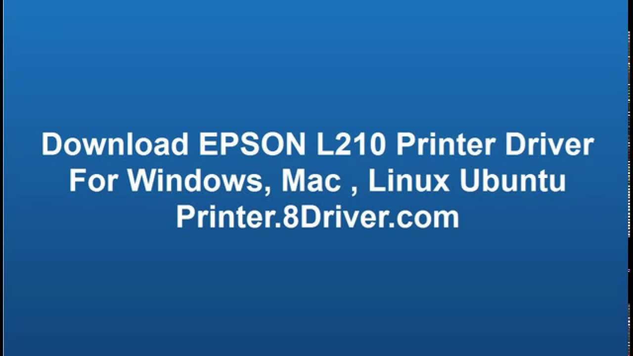 Epson l210 epson.