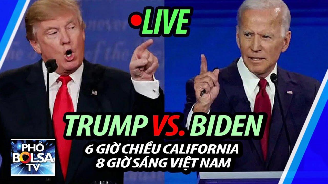 LIVE: Trump vs. Biden - Tranh luận bầu cử Tổng thống Mỹ 2020