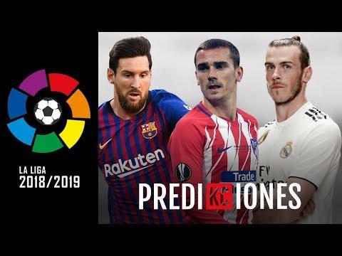 Predicciones LaLiga 2018/19