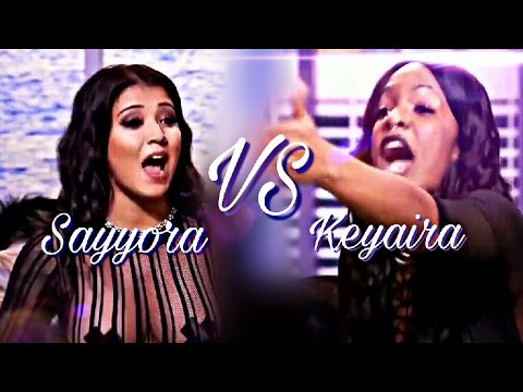 Bad Girls Club Reunion (S.17): Sayyora Vs. Keyaira (Argument)