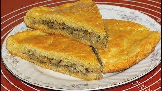 Пирог с Капустой. Закрытый Пирог с Капустой. Из Дрожжевого Теста.Рецепт/A pie with cabbage