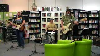 HI HO SILVER LINING by Scarbelly Blues Band at Gt Bridge Library Open Mic 17.5.18
