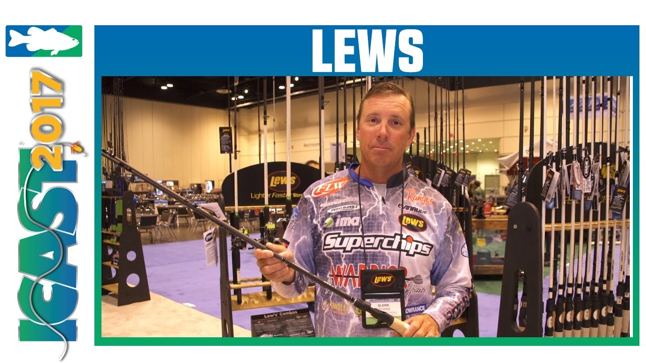 ICAST 2017 Videos - Lew's Laser SG1 Casting & Spinning Rods