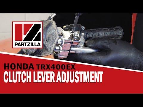 Honda ATV Clutch Adjustment & Lever Replacement | Partzilla.com