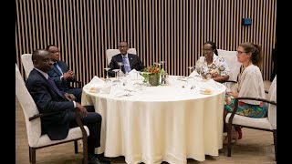 President Kagame hosts an Annual Diplomats' Luncheon