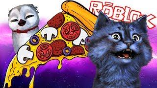 СУМАСШЕДШИЙ ПОБЕГ из ПИЦЦЕРИИ в РОБЛОКС! / Escape The Pizzeria Obby!