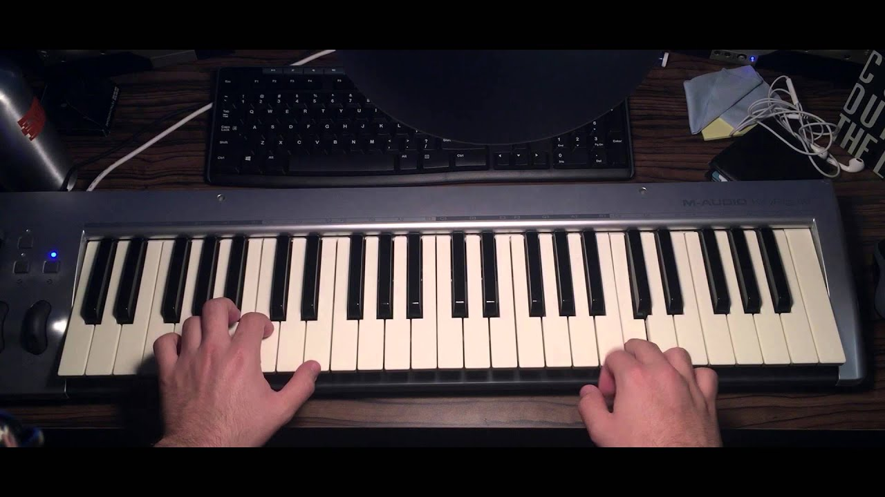 how to play spiderman on piano