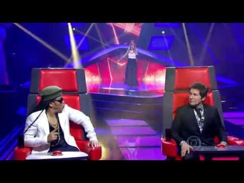 The Voice Brasil - Mariana Mira se apresenta na Audição