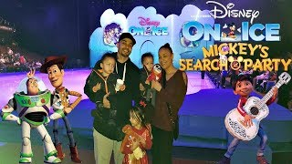 Disney On Ice Mickey's Search Party Live with Frozen Elsa Anna Moana Coco Olaf Toy Story