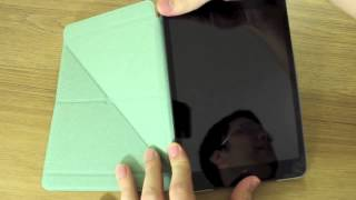 Gambar cover Moshi Versacover for iPad mini   Unboxing and Hands On