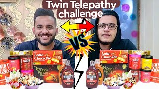 TWIN TELEPATHY ICE CREAM SUNDAE CHALLENGE !!