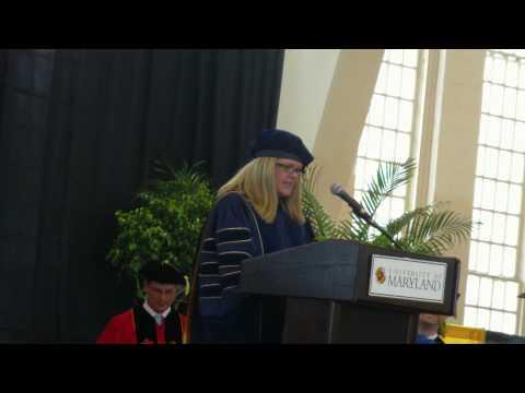 Anastasia Vvedenskaya - commencement speech part 1