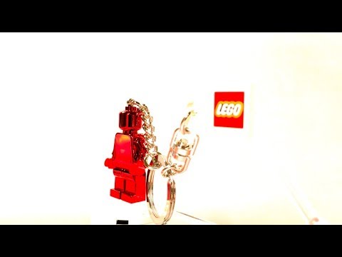 LEGO V.I.P. Exclusive Minifigure Keychain Review! - YouTube