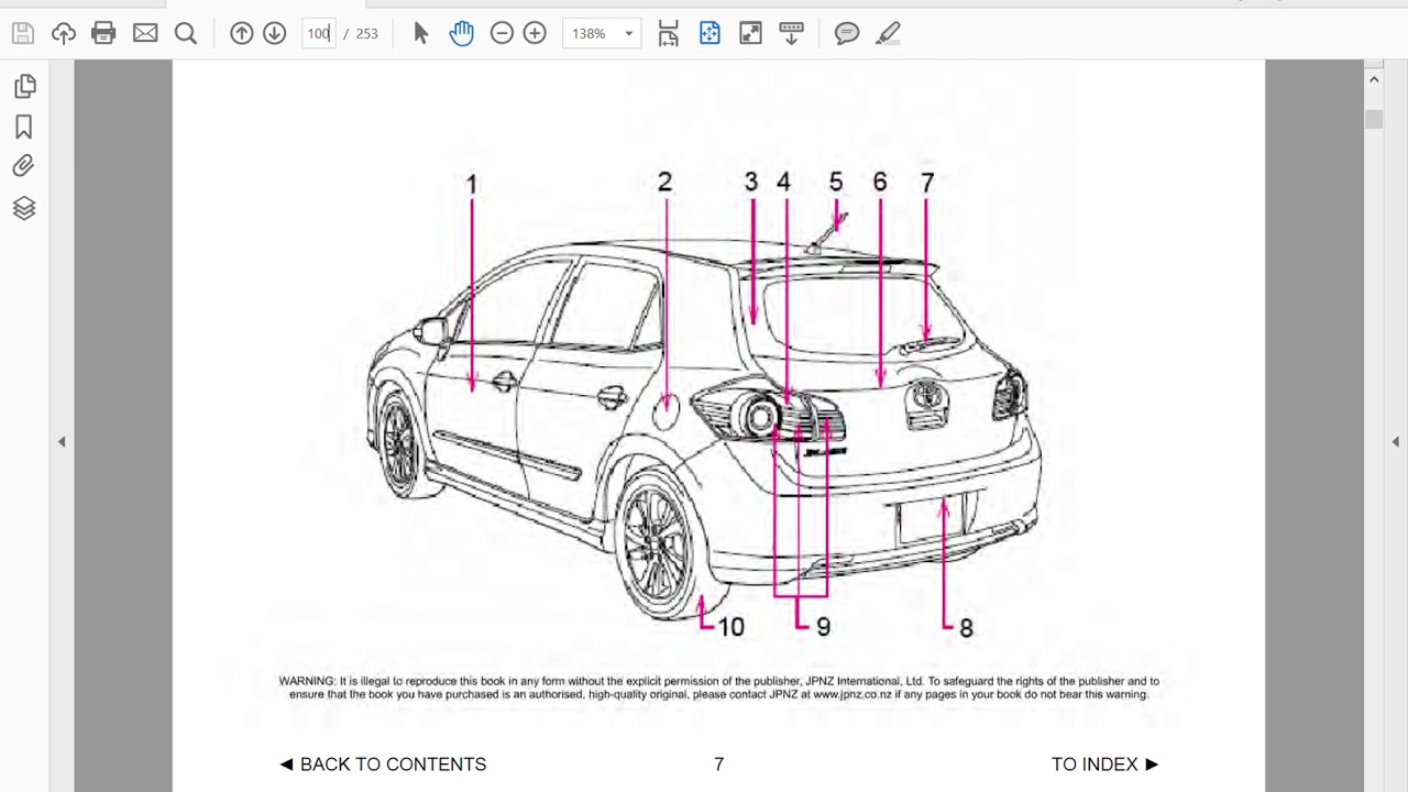 Toyota blade owners manual in english youtube toyota blade owners manual in english freerunsca Choice Image