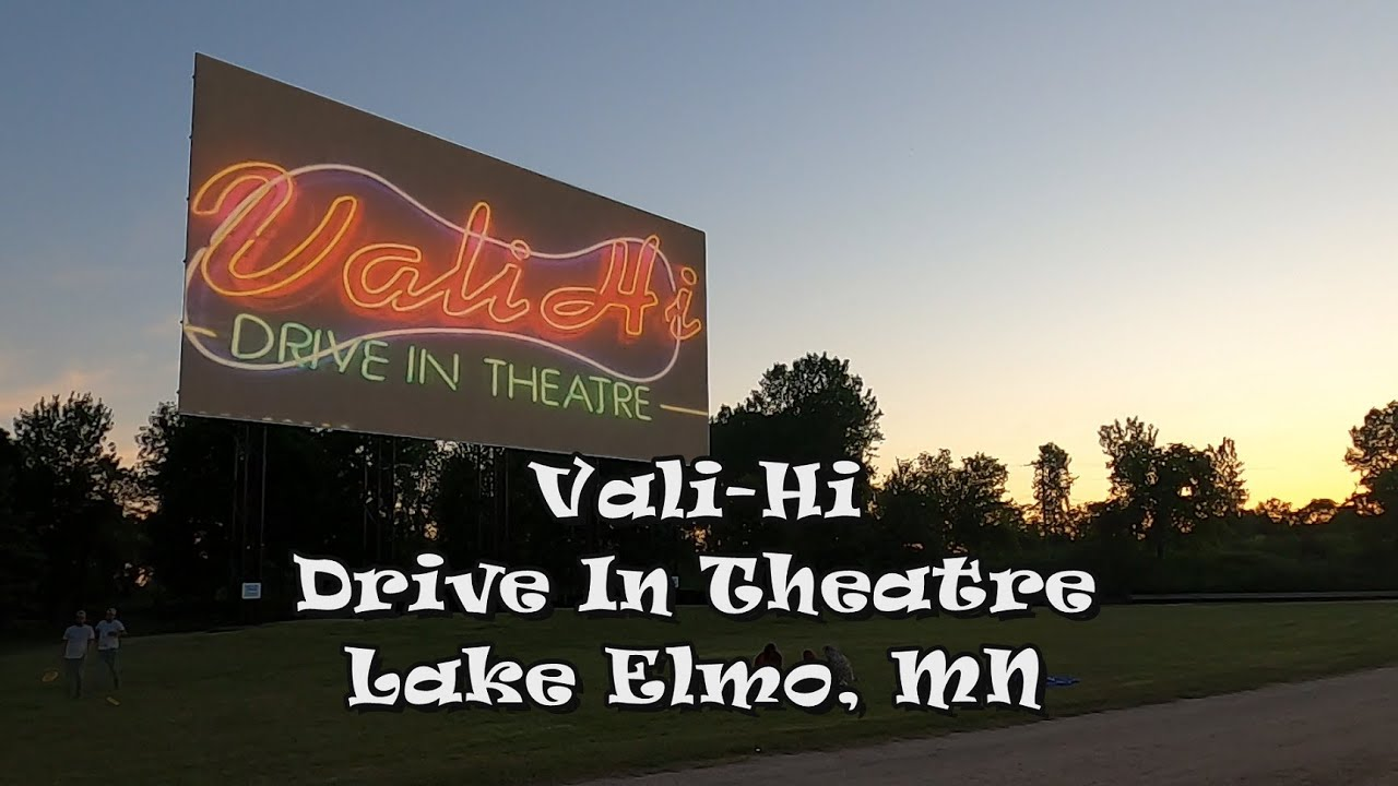 Vali Hi Drive In Theatre Lake Elmo Mn Youtube