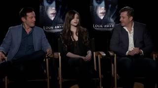 Look Away - Interviews With India Eisley, Jason Isaacs And Assaf Bernstein