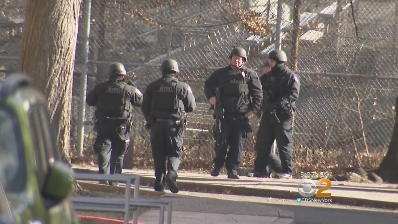 SWAT Teams Swarm Brooklyn High School After Reports Of Student With Gun