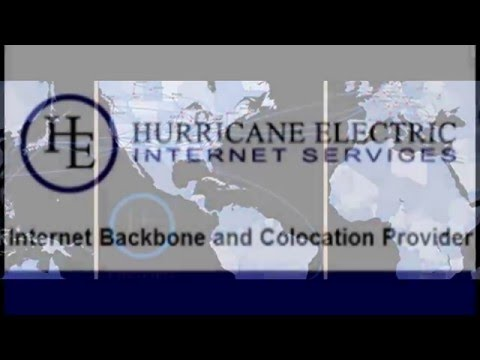 Hurricane Electric Internet Services Youtube