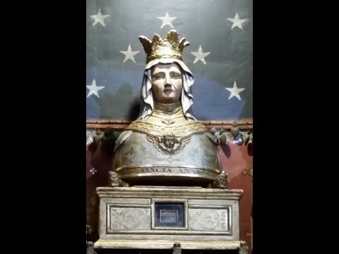 Who is She? The Finding of St Anne's Relics