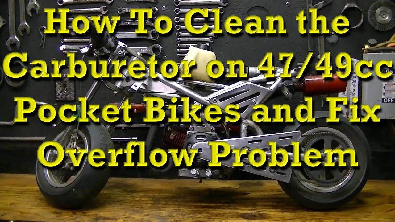 Pocket Rocket Carb Diagram Trusted Wiring 49cc Cateye Bike How To Remove And Clean Mini Carburetors Fix 2 Stroke Engine