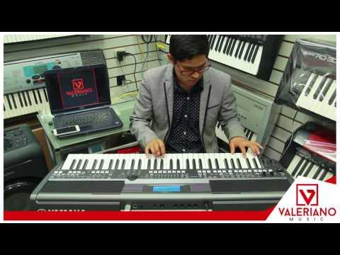 Intro Adoración Cristiana en Yamaha PSR S 670 - Valeriano Music