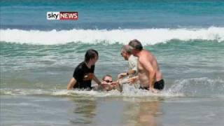 new michael cohen south african great white shark attack pictures
