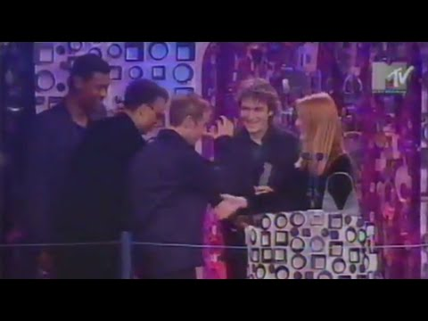 Massive Attack's Teardrop Wins Best Video At The MTV Europe Awards 1998
