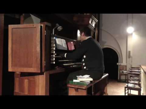Draw nigh and take - St Ignatius Catholic Church, Stamford Hill, London (Compton organ)