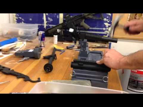 Gunners mount armorer block upper receiver