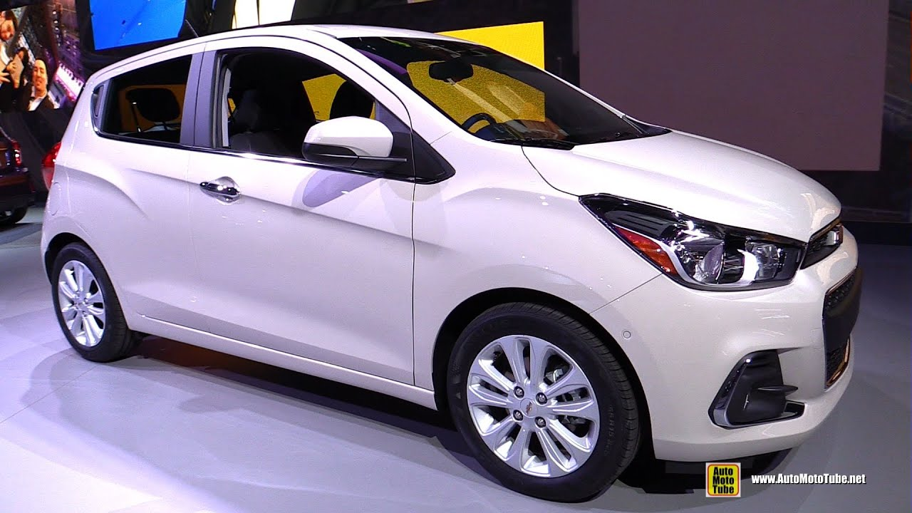 2016 Chevrolet Spark Lt Exterior And Interior Walkaround Debut At 2017 New York Auto Show You