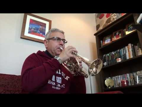 Some of the Cornet Solos from Vaughan Williams English Folk Song Suite (The Sofa Sessions)