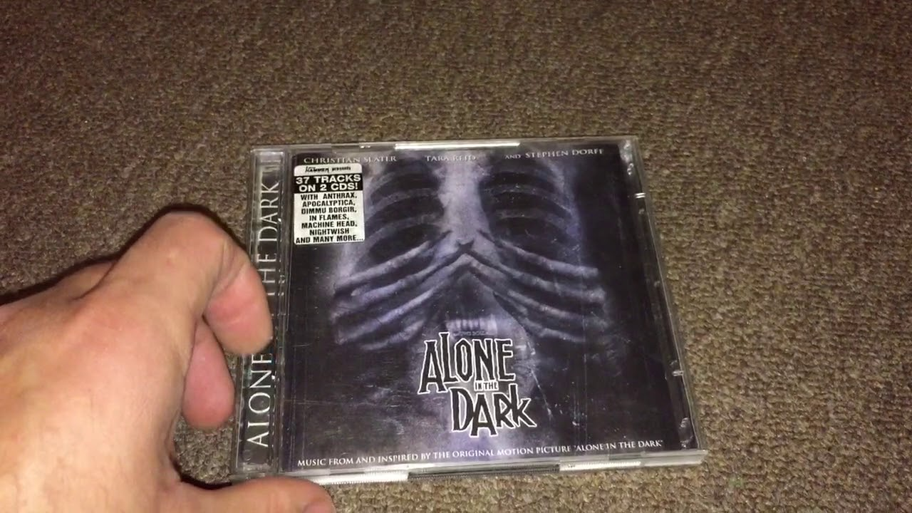 Unboxing Review Alone In The Dark Soundtrack 2005 Cd Youtube