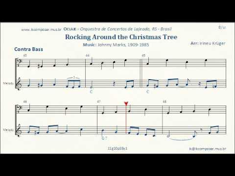 Rockin\' Around The Christmas Tree ( Contra Bass ) - YouTube