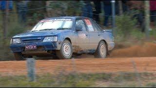 Mental V8 Holden Commodore Rally Car