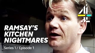 First Ever Episode of Kitchen Nightmares with Gordon Ramsay | Watch in Full