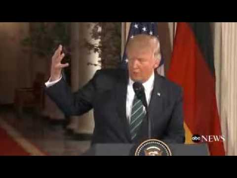 Trump to Merkel: At least we have something in common  on Obama Wiretapping