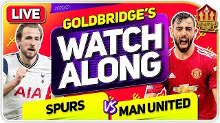 TOTTENHAM vs MANCHESTER UNITED With Mark GOLDBRIDGE LIVE