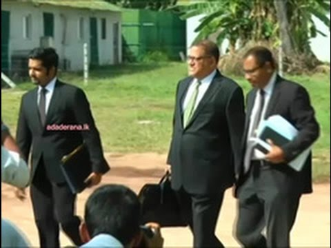 Arjuna Mahendran arrives at Presidential Commision of Inquiry