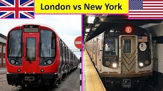 London Underground vs New York City Subway Comparison (2019)