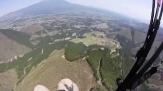 富士山の前の40分フライト~ いい日でした!