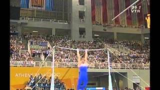 2004 アテネ アレクセイ・ネモフ Alexei Yurievich Nemov  種目別決勝 鉄棒