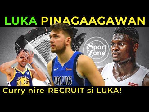 BAKIT Walang Shoe Deal si Luka Doncic? Steph Curry, NIRE-RECRUIT si Luka?
