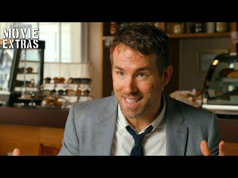 The Hitman's Bodyguard   On-set visit with Ryan Reynolds 'Michael Bryce'
