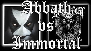 Abbath 'Self-Titled' Vs Immortal 'Northern Chaos Gods'